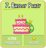 Эпизод Angry Birds - Birdday Party - День Птицерождения