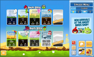 Angry Birds Chrome v2.0.0.18 Выбор эпизода