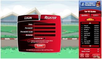 Angry Birds Heikki - Форма регистрации