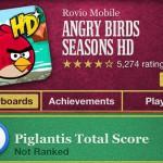 Достижение нового эпизода Angry Birds Seasons - Piglantis в Game Center