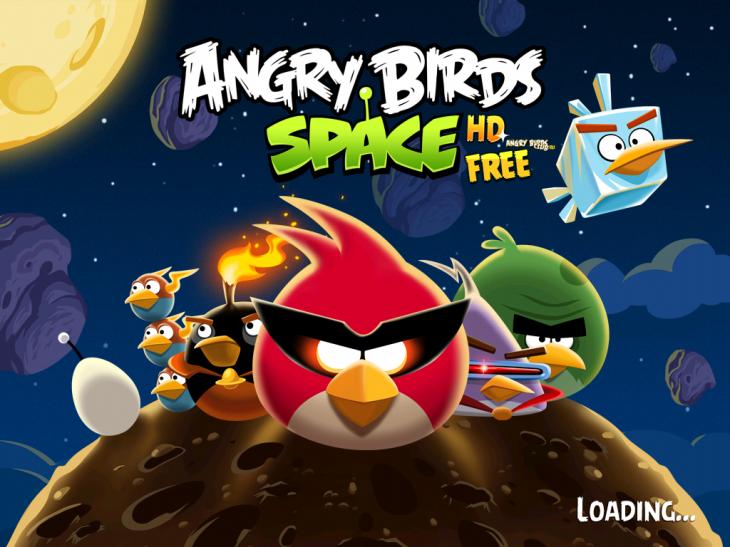 Вышла бесплатная Angry Birds Space Free
