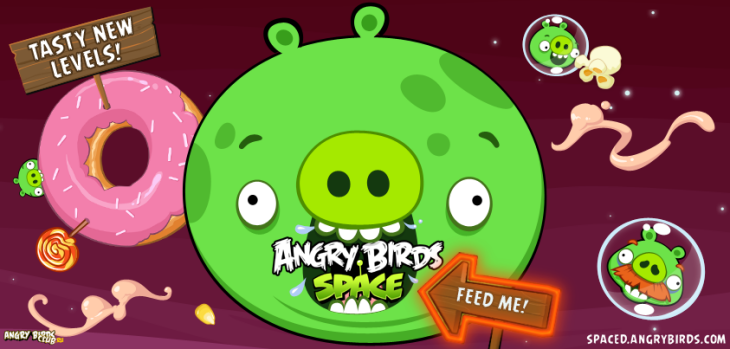 Новая планета Angry Birds Space - Utopia