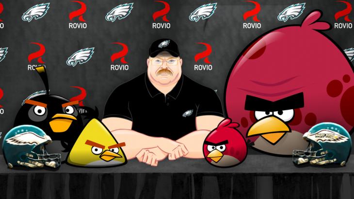 Конференция Angry Birds и Philadelphia Eagles