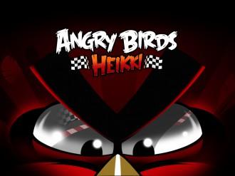 Angry Birds Heikki логотип обои 1024x768