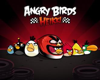 Angry Birds Heikki стая обои 1280x1024