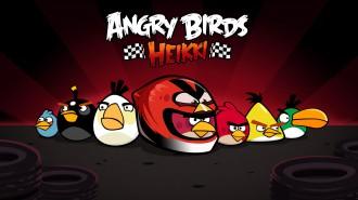 Angry Birds Heikki стая обои 1920x1080