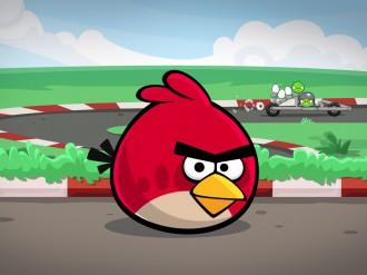 Angry Birds Heikki гонки обои 1024x768