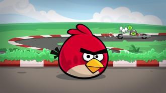Angry Birds Heikki гонки обои 1920x1080