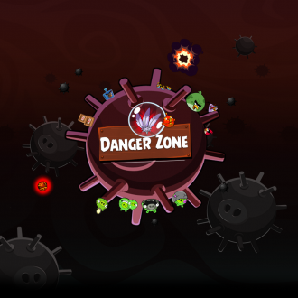 Обои Angry Birds Space Wallpaper для iPad от Mr. Green - Danger Zone