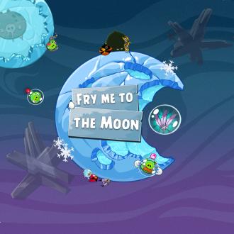 Обои Angry Birds Space Wallpaper для iPad от Mr. Green - Fry Me to The Moon