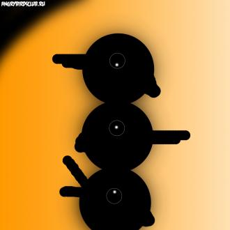 Обои Angry Birds Wallpaper для iPad от Mr.Green - Колибри