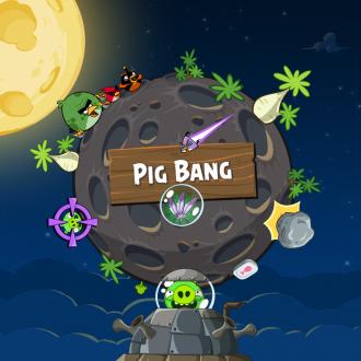 Обои Angry Birds Space Wallpaper для iPad от Mr. Green - Pig Bang