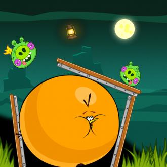 Обои Angry Birds Wallpaper для iPad от Mr.Green - Свиноуин