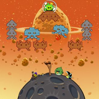 Обои Angry Birds Space Wallpaper для iPad от Mr. Green - Старая игра