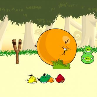 Обои Angry Birds Wallpaper для iPad от Mr.Green - Клюв-крыло