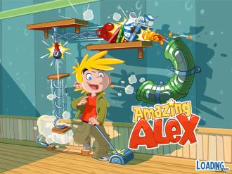 Amazing Alex - Экран загрузки
