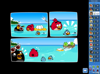 Angry Birds Friends Pigini Beach - Комикс