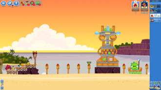 Angry Birds Friends Pigini Beach - Уровень 15