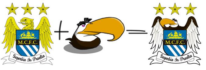 Могучий Орёл на эмблеме клуба AПЛ