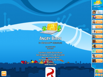 Angry Birds in Ultrabook Adventure - Титры