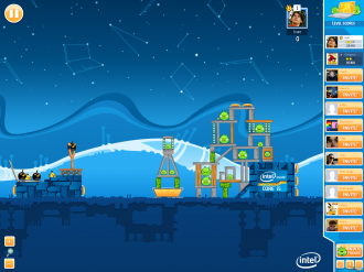 Angry Birds in Ultrabook Adventure - Уровень 1