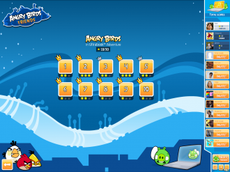 Angry Birds in Ultrabook Adventure - Выбор Уровня