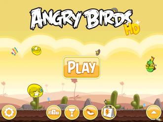 Обновление Angry Birds Original: Главное меню