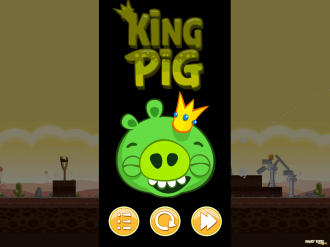 Обновление Angry Birds Original: Король победил