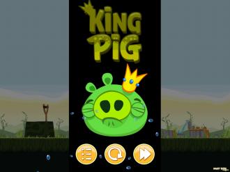 Обновление Angry Birds Original: Король проиграл