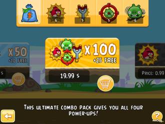 Обновление Angry Birds Original: Магазин Активаторов