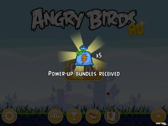 Обновление Angry Birds Original: Стартовый подарок