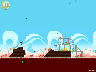 Обновление Angry Birds Original: Уровень Смена Материалов