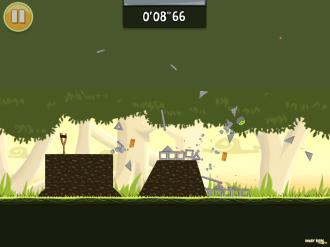 Обновление Angry Birds Original: Уровень Полный Разнос