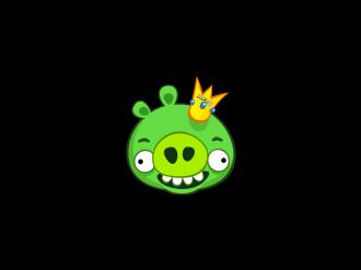 Обновление Angry Birds Original: Загрузка King Pig