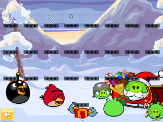 Angry Birds Seasons: Глюк Wreck the Halls