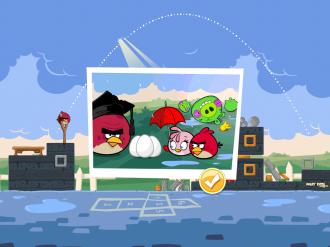 Angry Birds Seasons - Back to School: Победа!