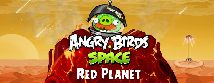 Вышла Angry Birds Space Red Planet