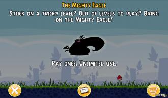 Предложение купить Орла в игре на Android