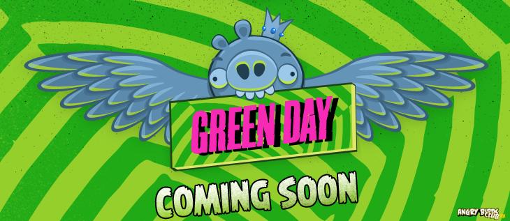 Angry Birds и Green Day представят новую онлайн-игру