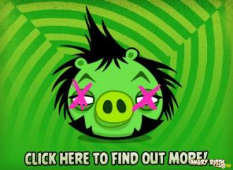 Angry Birds Green Day - одна из свиней