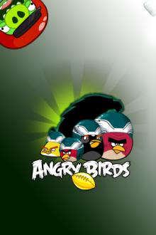Angry Birds обои для iPhone - Команда Птиц - от Mr.Green