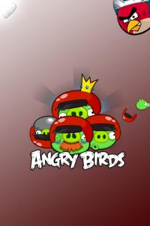 Angry Birds обои для iPhone - Команда Свиней - от Mr.Green