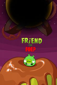 Angry Birds Space обои Друг или Враг? от Mr.Green