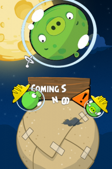 Angry Birds Space обои Картонная планета от Mr.Green