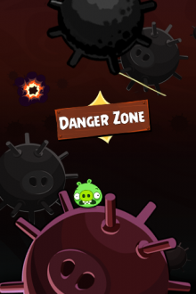 Angry Birds Space обои Danger Zone от Mr.Green
