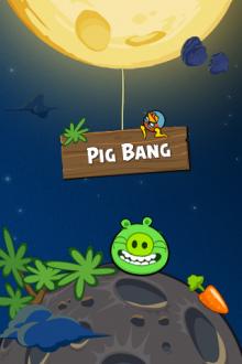 Angry Birds Space обои Pig Bang от Mr.Green