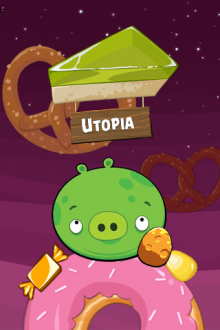 Angry Birds Space обои Utopia от Mr.Green
