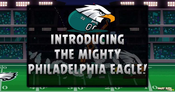 Angry Birds Philagelphia Eagles выйдет 4 сентября