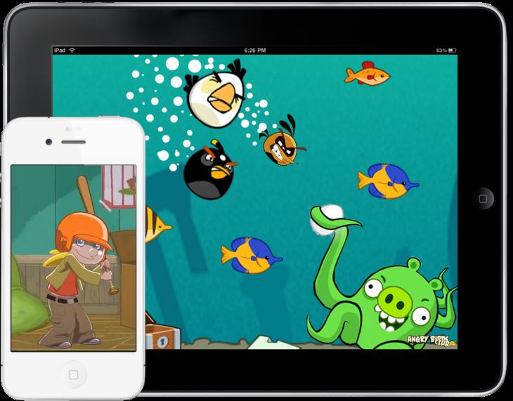 Обои Angry Birds от Zooma и Mr.Green