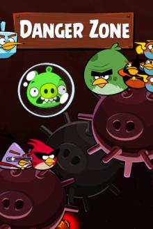 Обои Angry Birds Space Danger Zone от Zooma